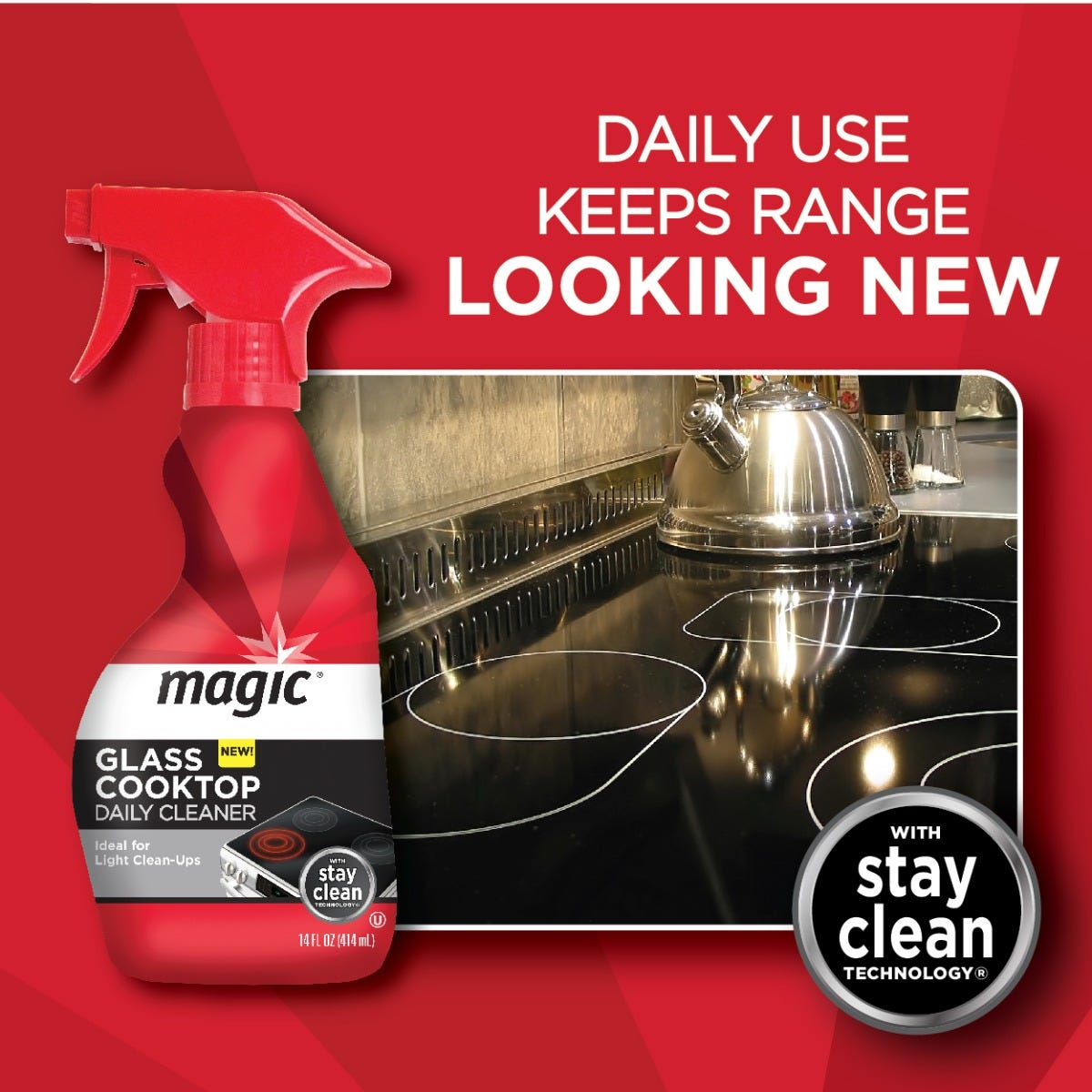 Magic Cooktop Cleaner