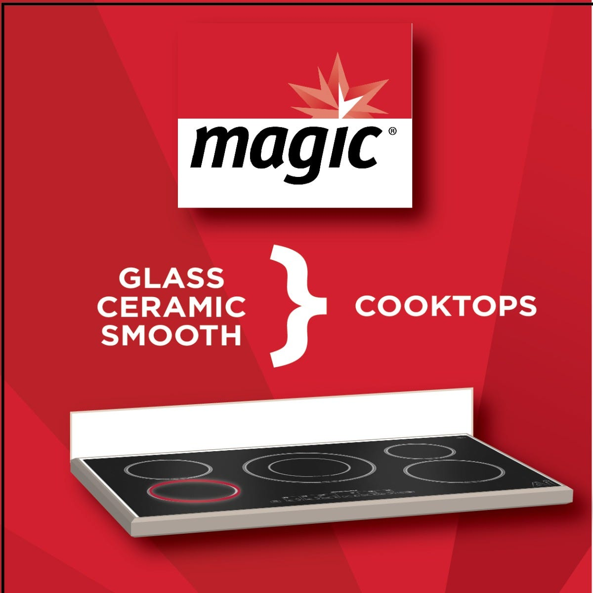 Magic Cooktop Cleaner Uses