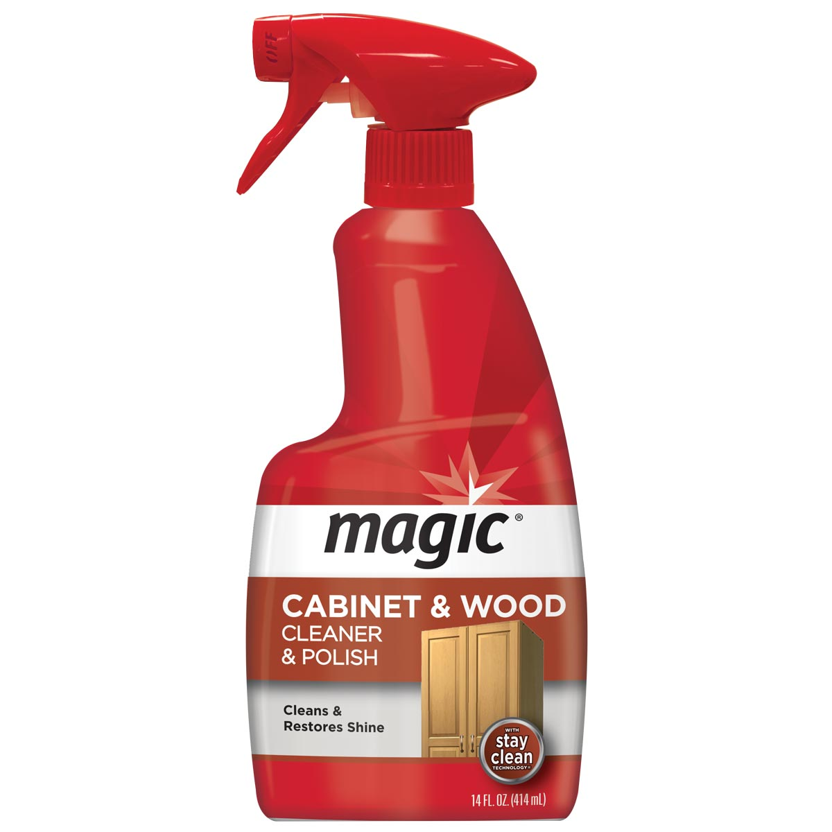 Cabinet cleaner