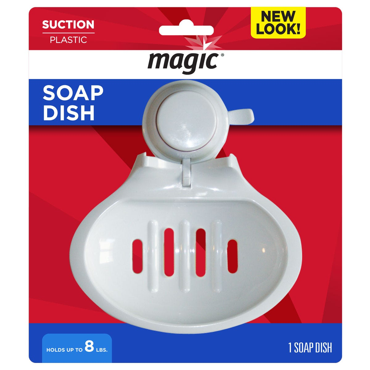 Suction Cup Soap Dish for Showers