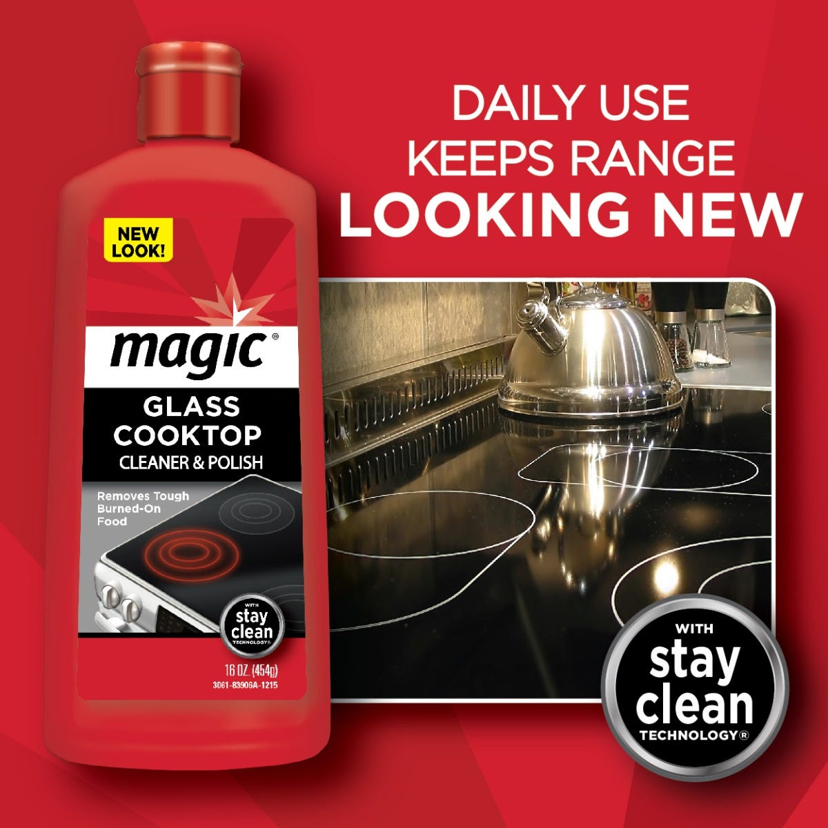 Magic Glass Cooktop Cleaner & Polish