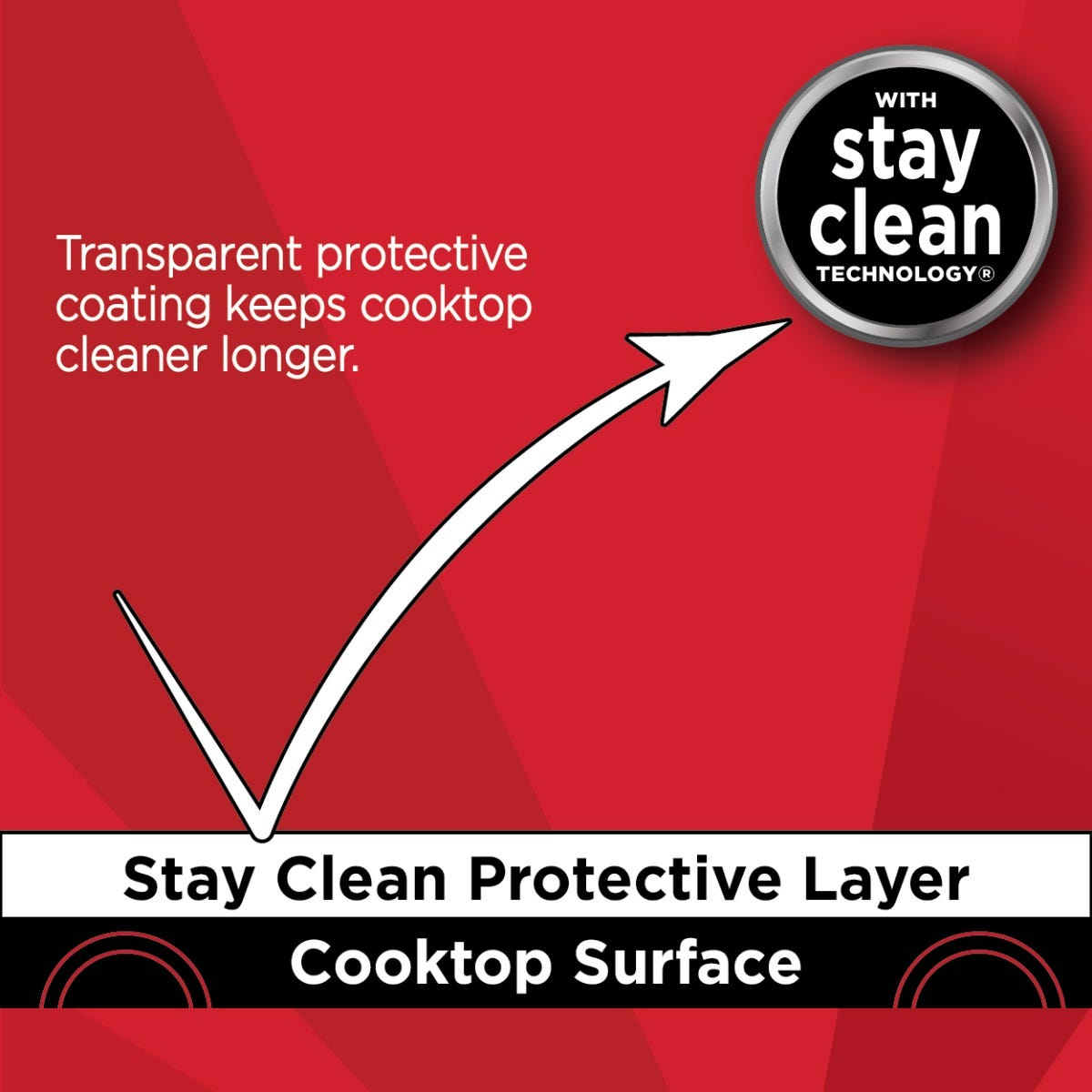 Cooktop protective coating
