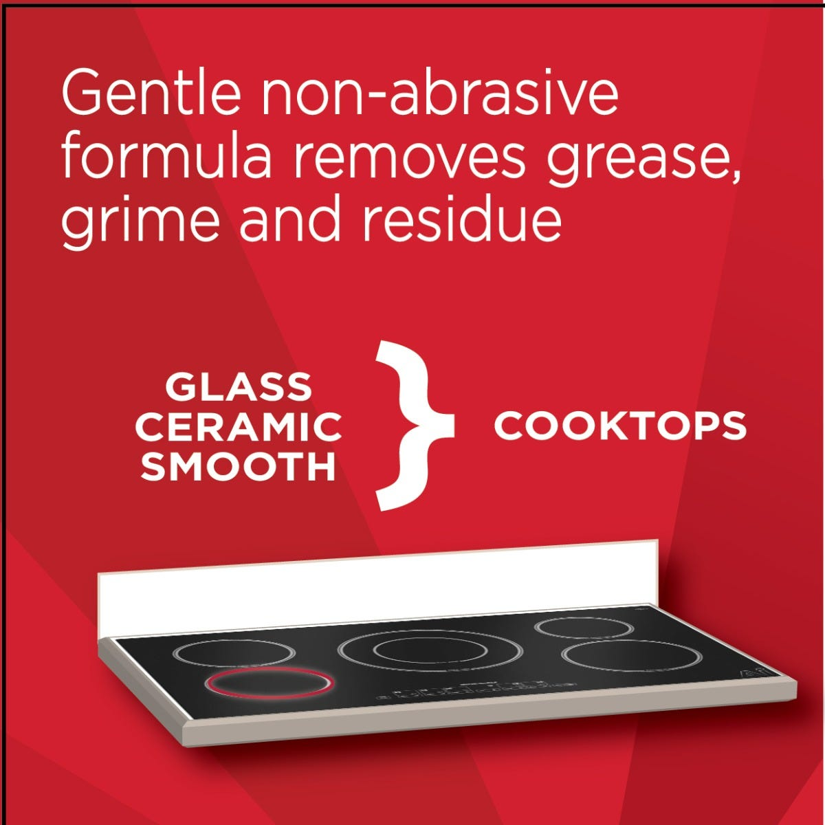 Magic Glass Cooktop Cleaner uses