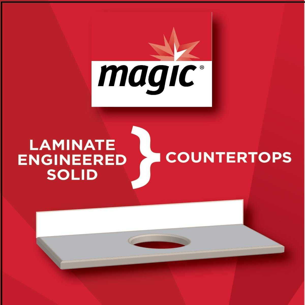 Magic Counter Cleaner Aerosol surfaces