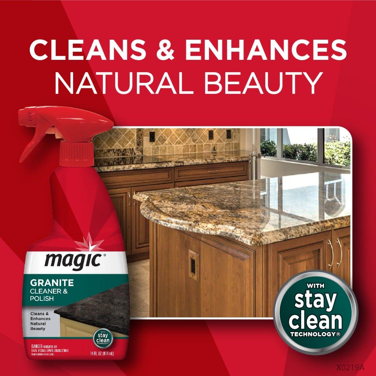 Magic Granite Cleaner & Polish