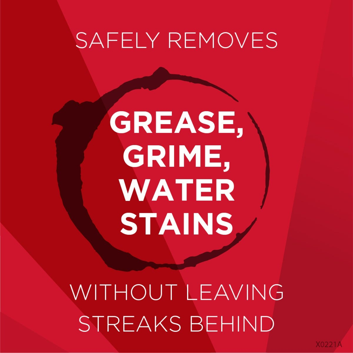 Safely remove grease and grime