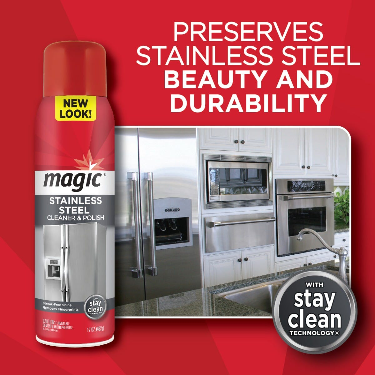 Magic Stainless Cleaner Beauty