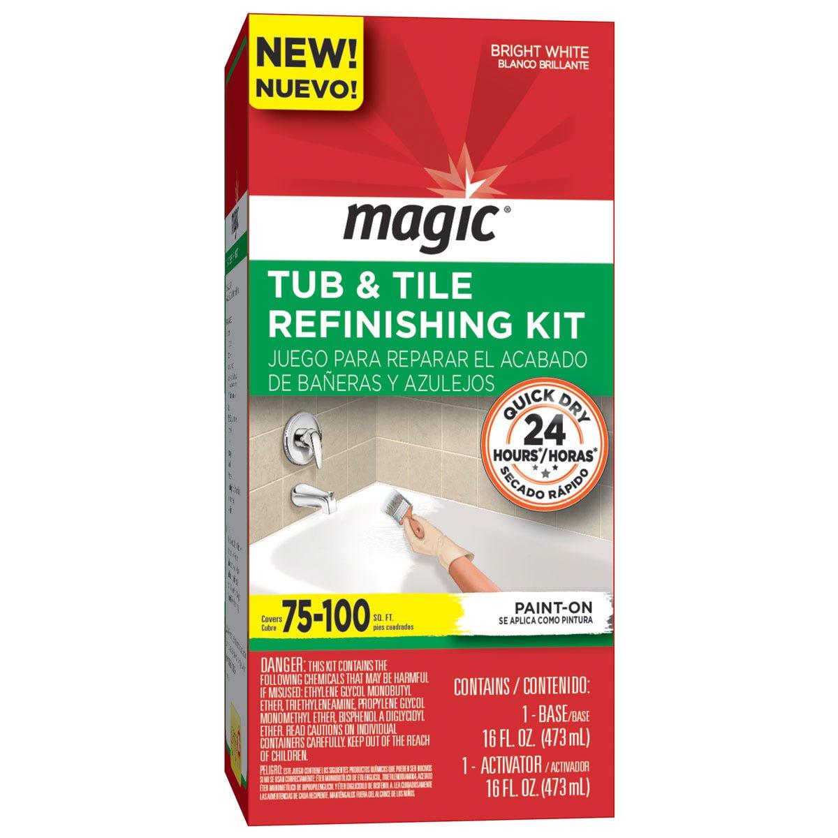 Magic Paint On Tub Refinishing Kit