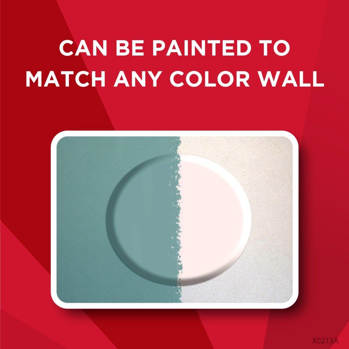 Paintable door knob blocker