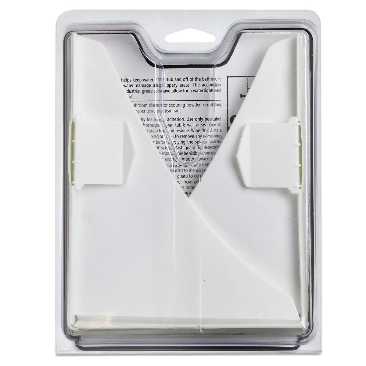 Splash Guard Kit Back Label