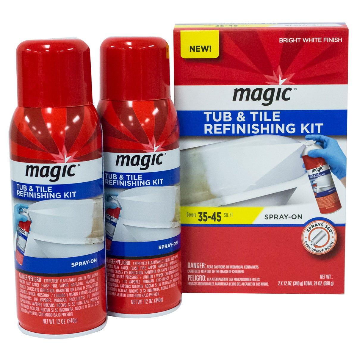Spray Paint Tub Refinishing Kit