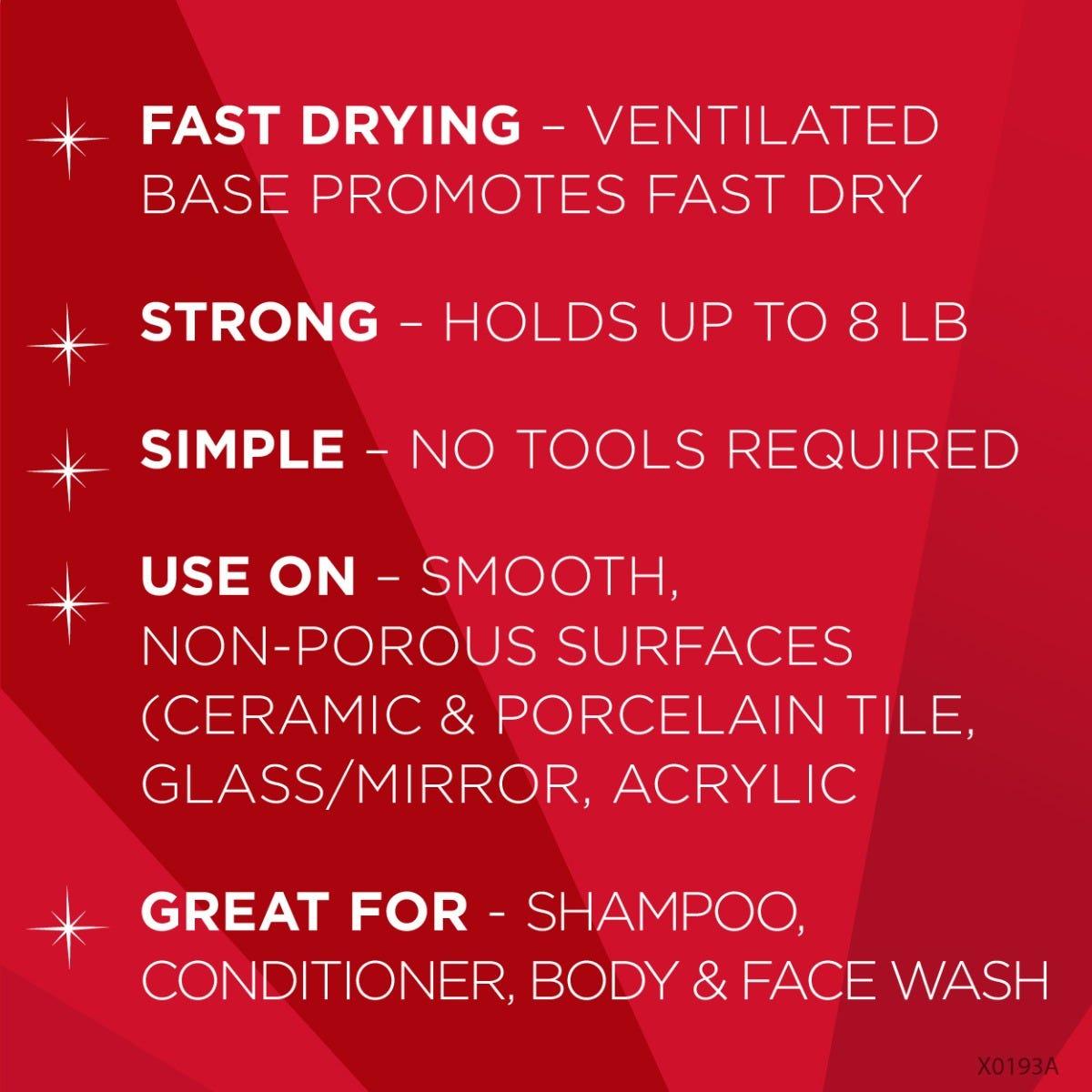 Magic Shower basket benefits